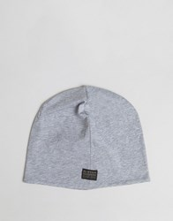 G Star Barran Jersey Beanie Grey