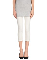 Noa Noa Trousers Leggings Women Ivory