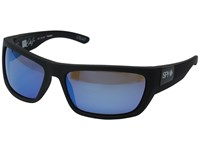 Spy Optic Dega Soft Matte Black Happy Bronze Polar W Dark Blue Spectra Athletic Performance Sport Sunglasses