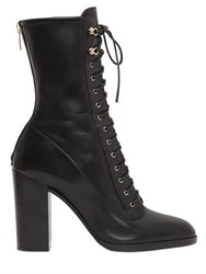 Sergio Rossi 90Mm Changeling Stretch Leather Boots