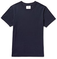 Reigning Champ Cotton Jersey T Shirt Blue