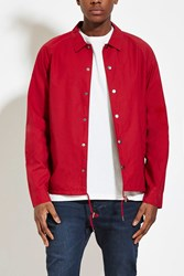 Forever 21 Mens Drawstring Hem Cotton Jacket