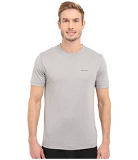 Marmot Conveyor S S Tee Steel Heather Men's T Shirt Multi