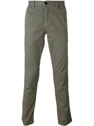 Paul Smith Jeans Dotted Trousers Green