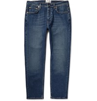 Acne Studios Town Slim Fit Washed Denim Jeans Blue