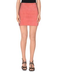 Stouls Skirts Mini Skirts Women Coral