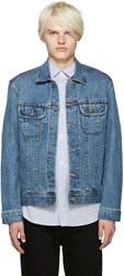 A.P.C. Indigo Denim Jacket