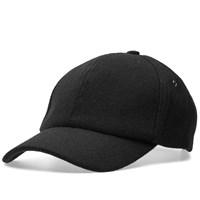 Paul Smith Melton Wool Cap Black