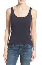 Women's Nic Zoe 'Perfect' Scoop Neck Tank Midnight
