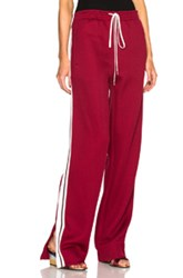 Chloe Chloe Track Pants In Red