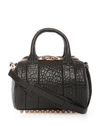 Alexander Wang Rockie Mini Pebbled Satchel Bag