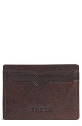 Men's Trask 'Jackson' Leather Card Case