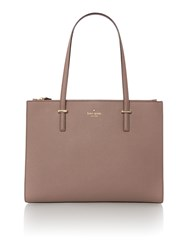 Kate Spade New York Cedar Street Jensen Double Zip Tote Bag Taupe