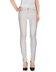 Blauer Denim Denim Trousers Women White