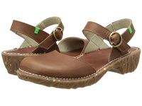 El Naturalista Yggdrasil N178 Wood Women's Shoes Brown