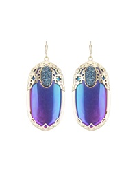 Kendra Scott Deva Iridescent Crystal Drop Earrings