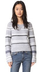 Derek Lam Crew Neck Sweater Grey