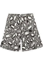 Opening Ceremony Printed Jacquard Shorts Black