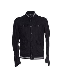 J.W. Tabacchi Coats And Jackets Jackets Men Dark Blue
