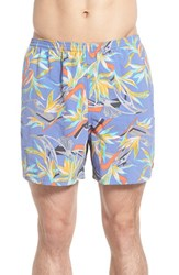 Men's Patagonia 'Baggies' Swim Trunks Piton Paradise Violet Blue