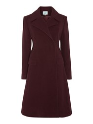 Dickins And Jones Longline Frock Coat Wine