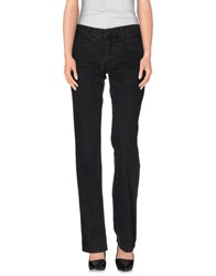 Tru Trussardi Denim Denim Trousers Women Black