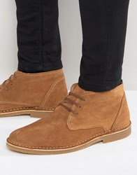 Selected Homme Royce Suede Warm Boots Tan