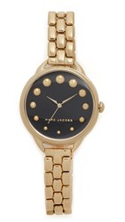 Marc Jacobs Betty Watch Gold Black