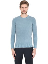 Drumohr Faded Lambswool Crew Neck Sweater