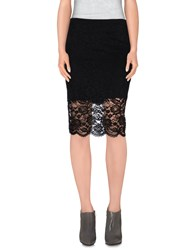 Hale Bob Skirts Knee Length Skirts Women Black