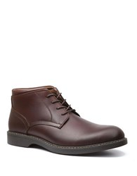 Bass Plano Suede Chukka Boots Brown