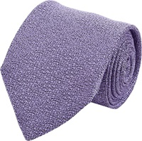 Barneys New York Textured Jacquard Neck Tie Purple