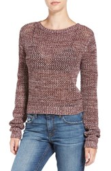 Joe's Jeans Women's 'Reed' Crochet Cotton Sweater