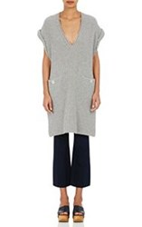 Derek Lam 10 Crosby Women's Rib Knit Tunic Grey