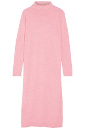 Steve J And Yoni P Wool Blend Turtleneck Tunic Baby Pink