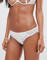 Bluebella Nova Bridal Brief Ivory White