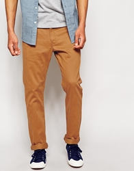 Lee Chinos Slim Fit Brushed Sateen Tinsel
