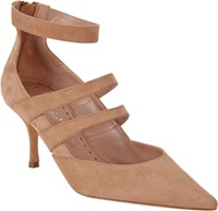 Jean Michel Cazabat Jolie Point Toe Pump Nude Size 11