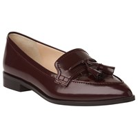 Lk Bennett L.K. Ellenor Pointed Toe Loafers Truffle
