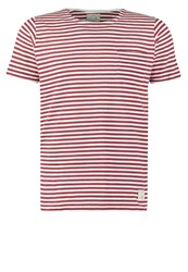 Suit Belmont Print Tshirt Red White
