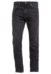 Abercrombie And Fitch Straight Leg Jeans Grey