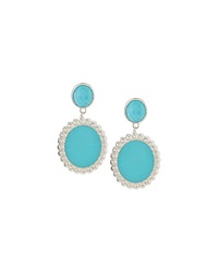 Slane Nuage Turquoise Drop Earrings