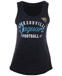 G3 Sports Women's Jacksonville Jaguars Playoff Scoop Tank Black