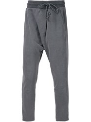Nsf Cropped Track Pants Grey