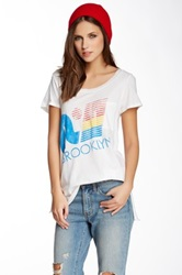 Rebel Yell Ry Brooklyn Pocket Tee White