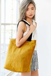 Bdg Multi Pocket Tote Bag Yellow