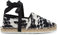Pierre Hardy Black And White Cube Espadrilles