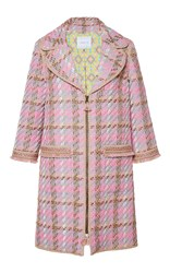 Andrew Gn Notch Collar Coat Pink