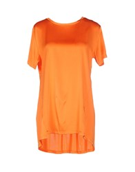 Cycle Shirts Blouses Women Orange