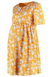 Mintandberry Mom Summer Dress Inca Gold Mustard